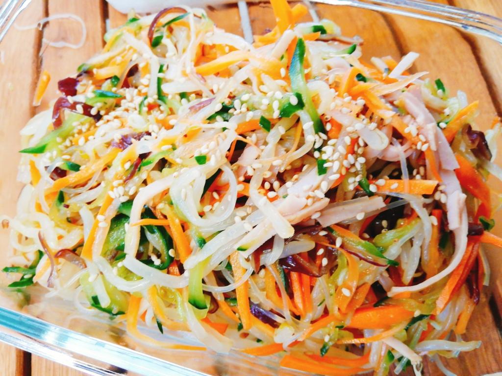 もやし 中華 サラダ 豆モヤシの中華サラダ(副菜) レシピ・作り方